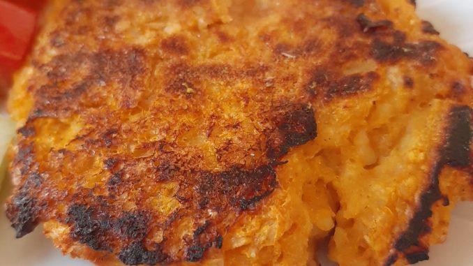 Hamburguesas de calabaza y arroz yamaní al curry